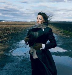 Anjelica Huston, photographed in Goshen, New York, by Annie Leibovitz for Vanity Fair February 2012.