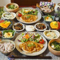彼の帰宅が遅くても大丈夫♡「冷めても美味しいおかずレシピ」13選 - LOCARI(ロカリ) Food Decoration, Aesthetic Food, Food Menu, Food Presentation, Diy Food, Japanese Food, Dessert, Asian Recipes, Food And Drink