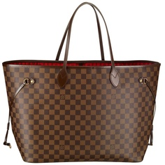 Louis Vuitton: Neverfull Damier - love mine - great for travel and work