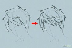 Hair, Anime boy, guy, male; How to Draw Manga/Anime