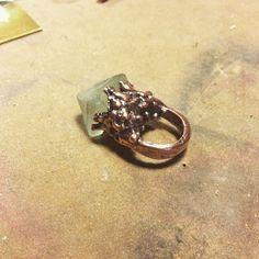 Acid Queen Jewelry adventures in electroforming!