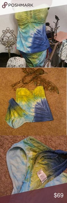 Lucky Brand Bathing Suit Lucky Brand Bathing Suit Tie-Dye never looked so good! Rock'N Ship is a Top 10% Seller on Poshmark. We add new items weekly. Please like or share! Lucky Brand Swim
