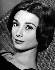 """Audrey Hepburn (1929–1993) British actress and humanitarian. She is one of the world's most famous actresses of all time, remembered as a film & fashion icon of the 20th century. Redefining glamour with """"elfin"""" features and a gamine waif-like figure that inspired designs by Givenchy.  She was inducted in the International Best Dressed List Hall of Fame, & ranked, by the American Film Institute, as the 3rd greatest female screen legend in the history of American cinema."""