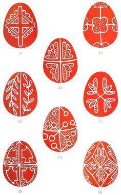 Plate Folk-Lore, vol. 20 - Folk-Lore/Volume Easter Eggs - Wikisource, the free online library Egg Crafts, Easter Crafts, Orthodox Easter, Pot Pourri, Easter Egg Pattern, Greek Easter, Easter Egg Designs, Ukrainian Easter Eggs, Egg Art