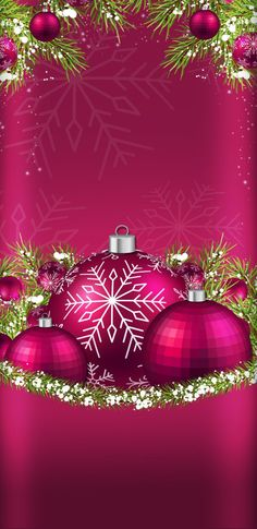 Christmas screen savers happy new year 52 ideas Christmas Scenes, Noel Christmas, Christmas And New Year, Winter Christmas, Christmas Bulbs, Christmas Crafts, Christmas Decorations, Wallpaper Telephone, Cellphone Wallpaper