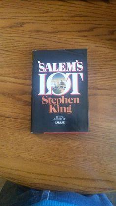 SALEM'S LOT Stephen King 1975 1st Bc by LightsOutBookshoppe