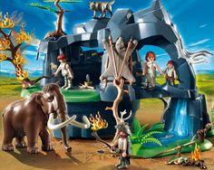5100 Προιστορική σπηλιά με μαμούθ
