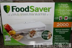 Keep food fresh for months - even YEARS - with FoodSaver! #giveaway via @Brandi Yee ENDS 10/10 Canada Only