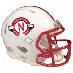 Nebraska Cornhuskers Riddell Mini Speed Helmet -125th Anniversary