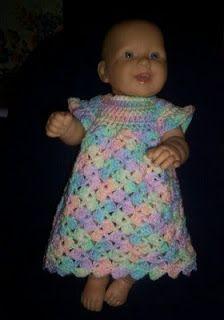 Gods Tiny Angels Patterns: Peggys Shell Dress