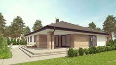 Проект+на+красива+едноетажна+къща+с+4+спални+и+двоен+гараж Home Projects, Gazebo, Garage, House Design, Outdoor Structures, Bedroom, Carport Garage, Kiosk, Bedrooms