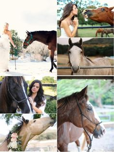 Wedding with your horse and on a country/stable landscape, soo pretty!