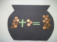 St. Patrick's Day math activity and craft