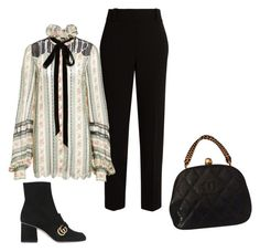 """""""vintage"""" by hibiah on Polyvore featuring The Row, Marc Jacobs, Gucci, Chanel and vintage"""