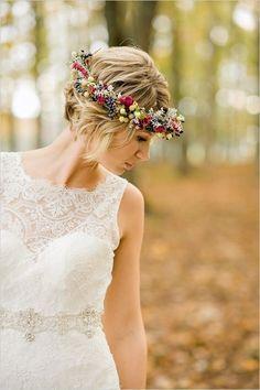 awesome 12 Glamorous Hochzeit Hochsteckfrisur Frisuren für kurzes Haar #Frisuren…
