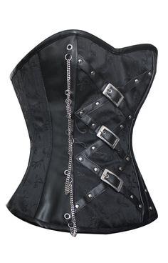 The Violet Vixen - Gothic Belted Backlash, $107.10 (http://thevioletvixen.com/corsets/gothic-belted-backlash/)
