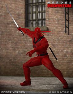 Heroes – Redantom For Poser -DAZ 3D
