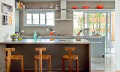 cozinha com duas janelas - Pesquisa Google