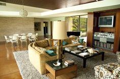 Frank Sinatra Living Room - Palm Springs