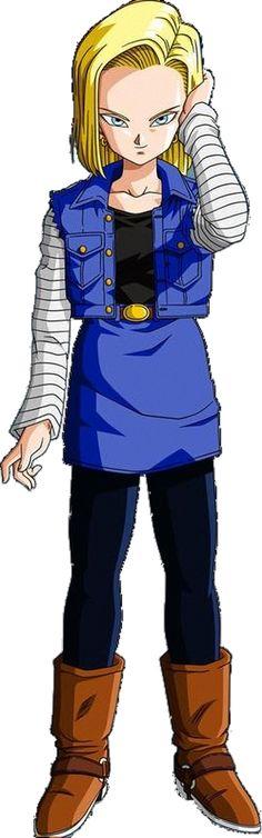 Androide Número 18 Serie: Dragon Ball Z Cadena Original: FUNimation (EEUU)/ Selecta Vision (España) (1989-1996)