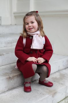 Princess Charlotte Looks So Adorable on Her First Day of Nursery School