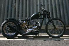 Bobber Inspiration | 1967 Triumph TR6r bobber | Bobbers and Custom Motorcycles