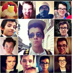 the selfie chronicles of Asa Butterfield