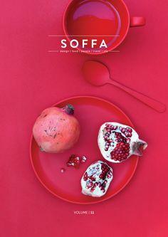 SOFFA mag ISSUE 11 – SOFFA magazine . Graphic Design . Pink . Composition .