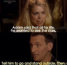 the 9th Doctor was my fave [1x06 Dalek, Doctor Who]