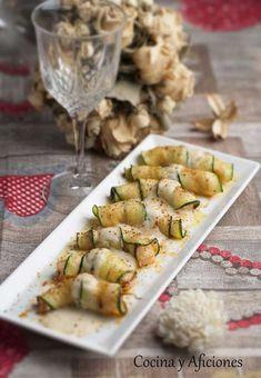 Raviolis de langostino y calabacín, receta para quedar de lujo.