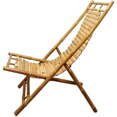 Vietnamese Bamboo Lounge Chair