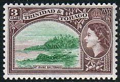 Trinidad and Tobago 1953 269 Mount Irvin Bay Fine Mint SG 269 Scott 74 Other Old Postage Stamps Here