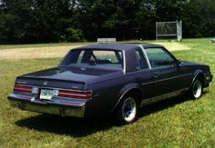 rear view of 1984 Buick Regal Limited...I want this car back!