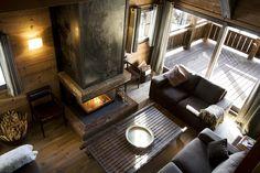 Alpine-inspired interior design