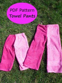 Pantalon de toalla