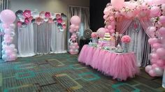 Party Decoration, Balloon Decorations, Birthday Decorations, Baby Shower Decorations, Baby Girl Shower Themes, Baby Boy Shower, Baby Party, Baby Shower Parties, Baby Room Closet