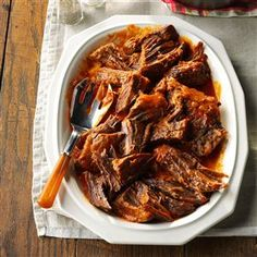 Bavarian Pot Roast Recipe- Recipes  Since all of my grandparents were German, it's no wonder that so many Bavarian recipes have been handed down to me. Because the Midwest has such a large German population, I feel this recipe represents the area well. —Susan Robertson, Hamilton, Ohio