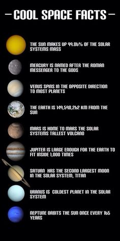Solar System Projects - Cool Space Facts