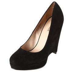 Shop for Matisse Women's 'Monet' Wedge Heels. Get free delivery On EVERYTHING* Overstock - Your Online Shoes Outlet Store! Shoes Heels Wedges, Wedge Heels, Flats, 10 Year Reunion, Shoe Deals, Leather Wedges, Black Heels, Amazing Women, How To Wear
