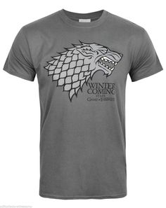 Official licensed game of #thrones #stark #'winter is coming' adult t-shirts - ne,  View more on the LINK: 	http://www.zeppy.io/product/gb/2/271957429571/