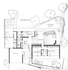 Case study house 9 dimensions