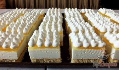 Habos citromos kocka Krispie Treats, Rice Krispies, Cheesecake, Food, House, Ideas, Home, Cheesecakes, Essen