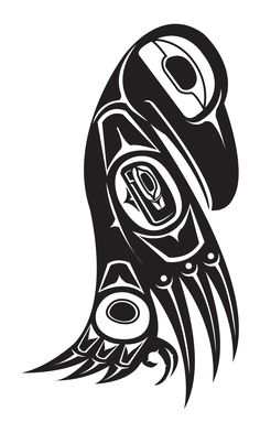 Want to discover art related to tlingit? Check out inspiring examples of tlingit artwork on DeviantArt, and get inspired by our community of talented artists. Haida Kunst, Arte Haida, Haida Art, Native American Symbols, Native American Design, American Indian Art, Tatouage Haida, Haida Tattoo, Rabe Tattoo