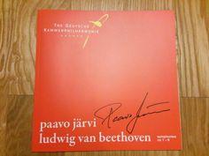 Paavo Järvi autograph.