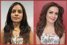 Antes y despu s on pinterest maquillaje twitter and studios Silvia galvan satelite