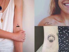 Inspiração | Tatuagens para quem gosta de praia | Letras na Gaveta