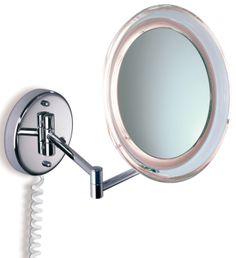 Kosmetikspiegel beleuchtet Marie Angebot| Nur für kurze Zeit. Beleuchteter Kosmetikspiegel. Schminkspiegel mit Tageslicht-Beleuchtung in 5- und 10-fach Vergrößerung.