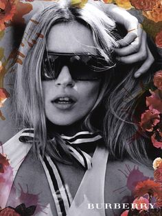 Burberry Campaign - Kate Moss