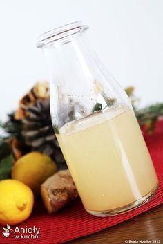 Anioły w kuchni: Napój intensywnie spalający tłuszcz Detox Drinks, Healthy Drinks, Healthy Tips, Healthy Recipes, Coctails Recipes, Diet Recipes, Home Remedies, Natural Health, Glass Of Milk