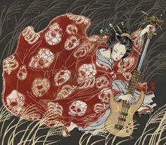 Asian-Super-girls-Illustrations-by-Yuko-Shimizu-4